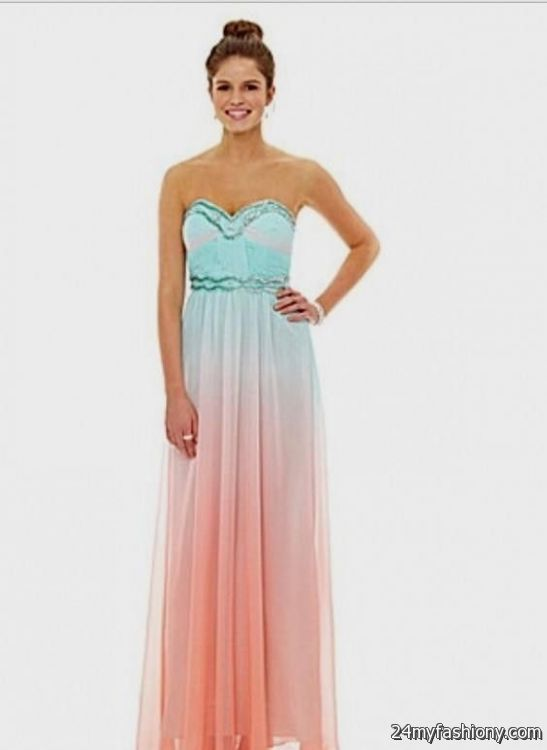 neon coral prom dress dillards 2016-2017 » B2B Fashion