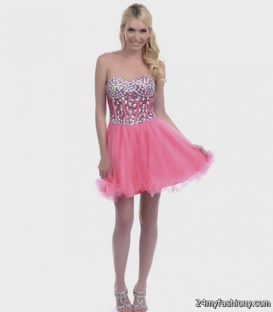 7031b07e7e9 You can share these neon coral prom dress dillards on Facebook