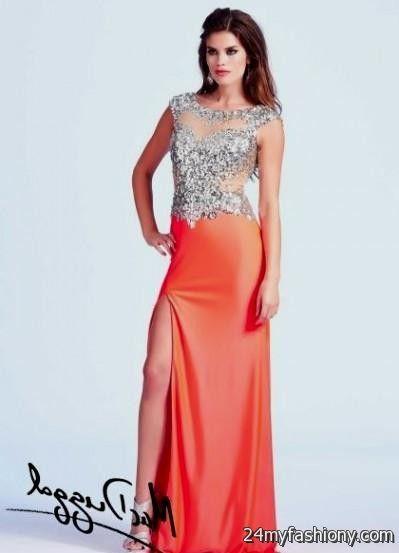 neon coral prom dresses 2016-2017 | B2B Fashion