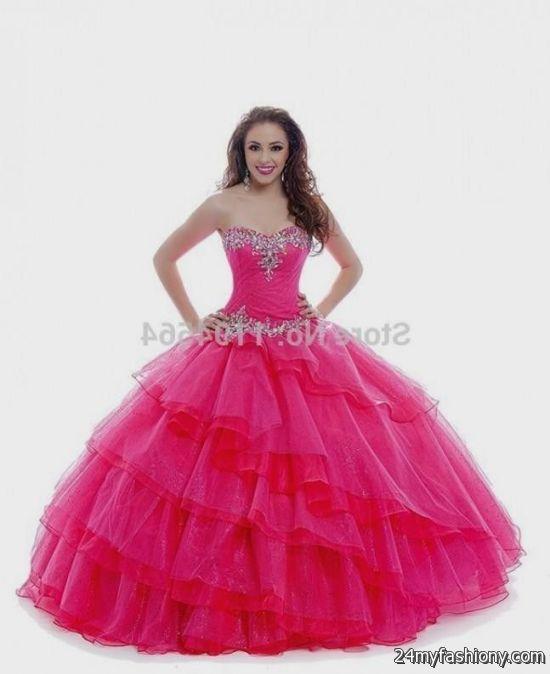 neon pink sweet 16 dress 2016-2017 » B2B Fashion