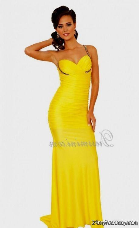 neon yellow prom dresses 2016-2017 » B2B Fashion