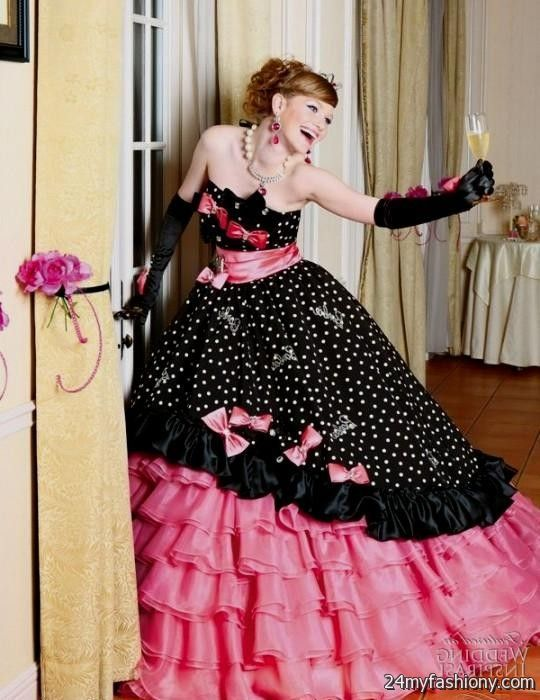 Black White And Hot Pink Wedding Dresses - Expensive Wedding Dresses ...