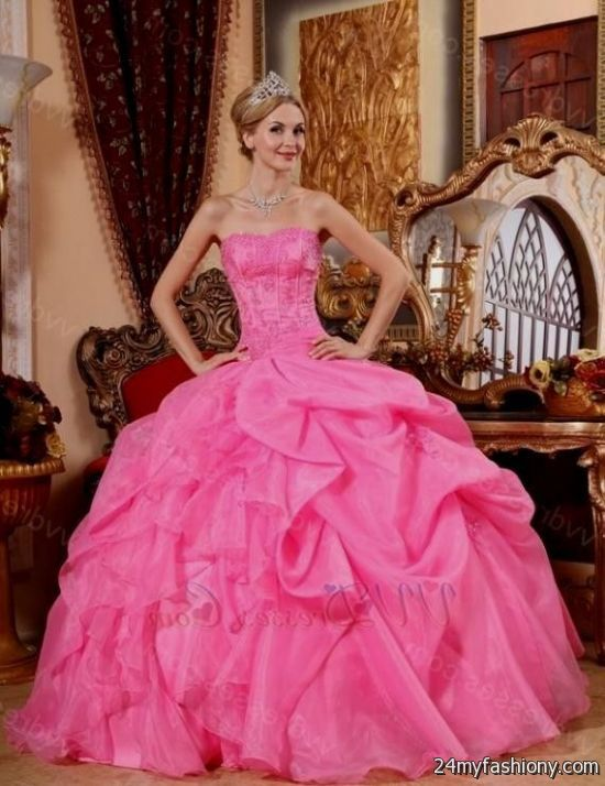 pink princess ball gown 2016-2017 » B2B Fashion