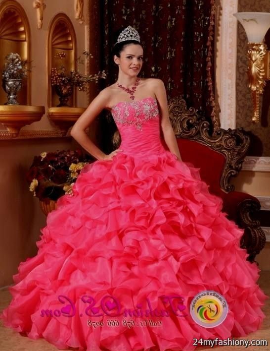 pink traditional mexican quinceanera dresses looks b2b