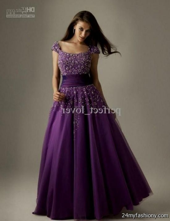 plus size prom dresses black and purple looks | B2B Fashion