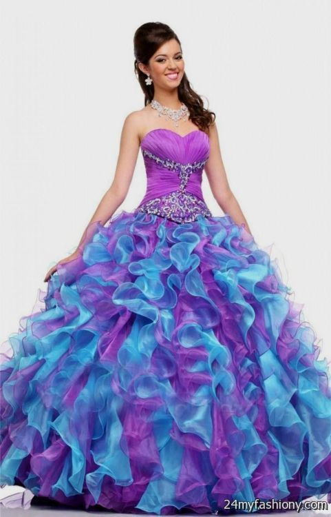 purple ball gown prom dresses 2016-2017 » B2B Fashion