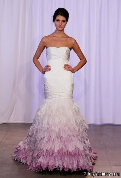 Purple ombre wedding dress the image for Purple ombre wedding dress