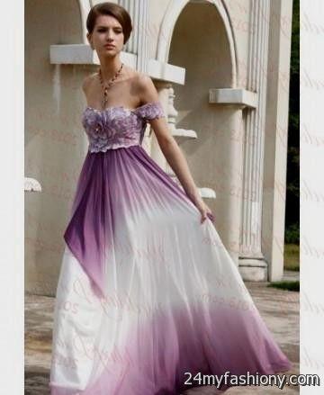 purple ombre wedding dress 2016-2017 » B2B Fashion