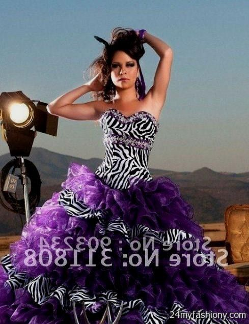 purple zebra quinceanera dresses 2016-2017 » B2B Fashion