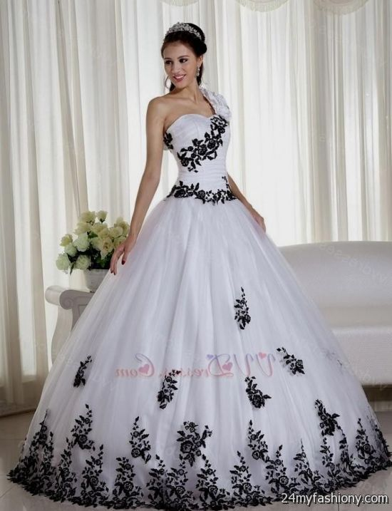 d4c989f84ef quinceanera dresses black and white looks