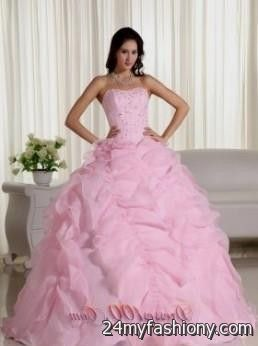 efe0d78f0ad Look your best at the Prom. You can share these quinceanera dresses light  pink and white on Facebook ...
