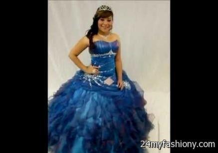 quinceanera dresses ocean blue 2016-2017 » B2B Fashion