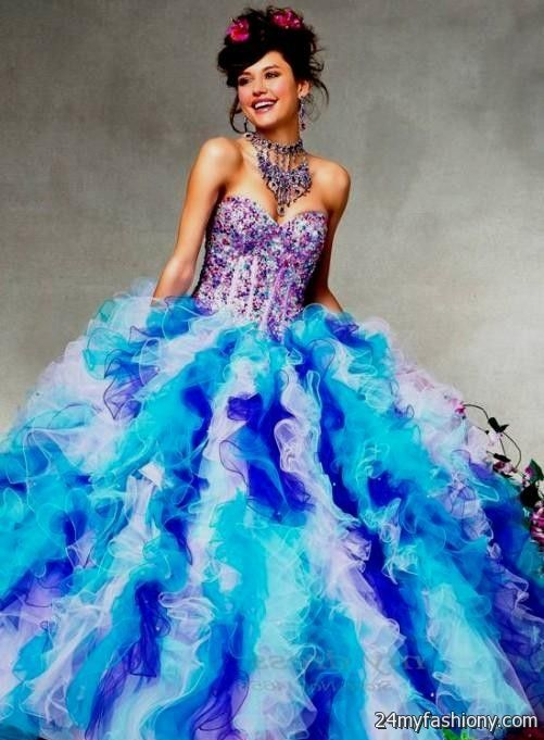 2017 Ford Colors >> quinceanera dresses rainbow colors looks | B2B Fashion