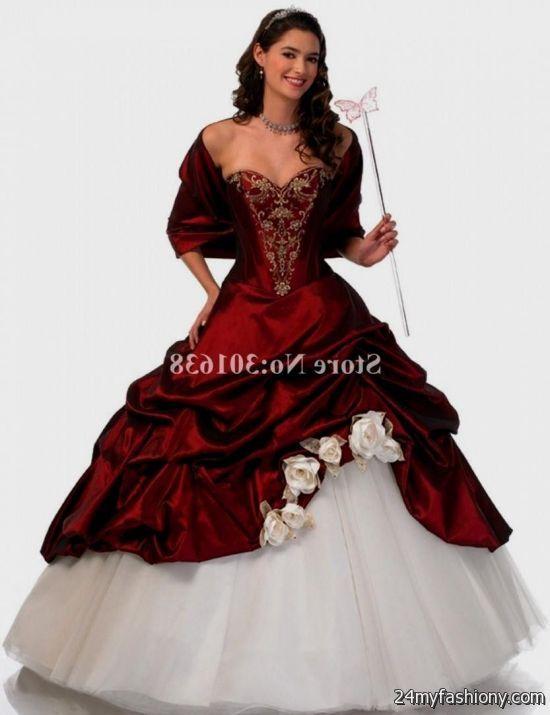 quinceanera dresses royal red 2016-2017 » B2B Fashion