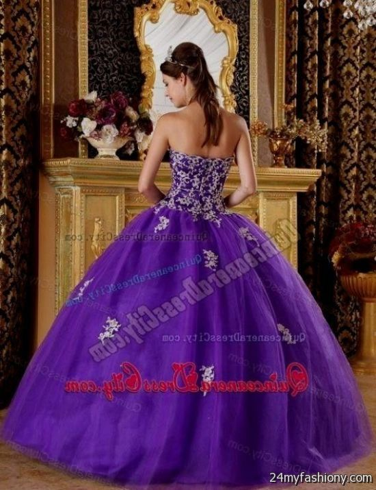 quinceanera dresses silver and purple 2016-2017 » B2B Fashion