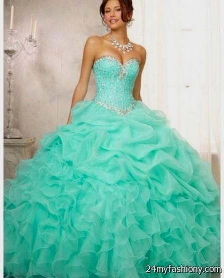 You Can Share These Quinceanera Dresses Turquoise And White On Facebook Stumble Upon My E Linked In Google Plus Twitter All Social