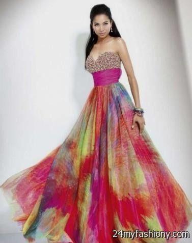 Rainbow Prom Dresses