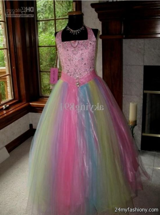 Rainbow wedding dress for sale 2016 2017 b2b fashion for Wedding dress for sale