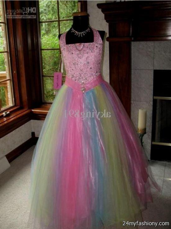Rainbow Wedding Dress For Sale Looks B2b Fashion