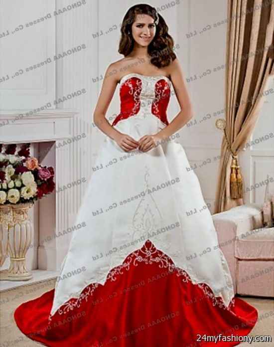Red Wedding Reception Dress Image collections - Wedding Decoration Ideas