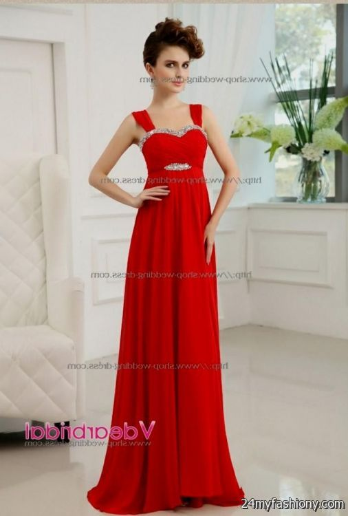 Bridesmaid dresses in red and silver bridesmaid dresses for Silver and red wedding dresses