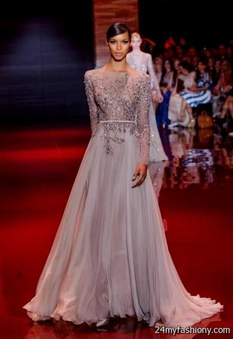 red couture evening gowns 2016-2017 | B2B Fashion