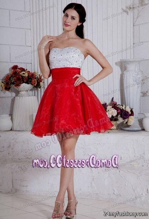 c9f14d77059 You can share these red quinceanera dresses for damas on Facebook