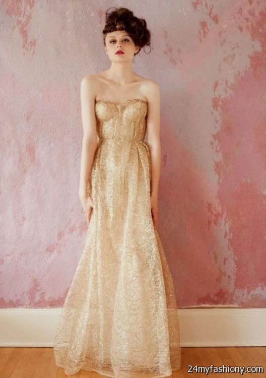 Rose Gold Lace Bridesmaid Dresses 2016 2017 B2b Fashion