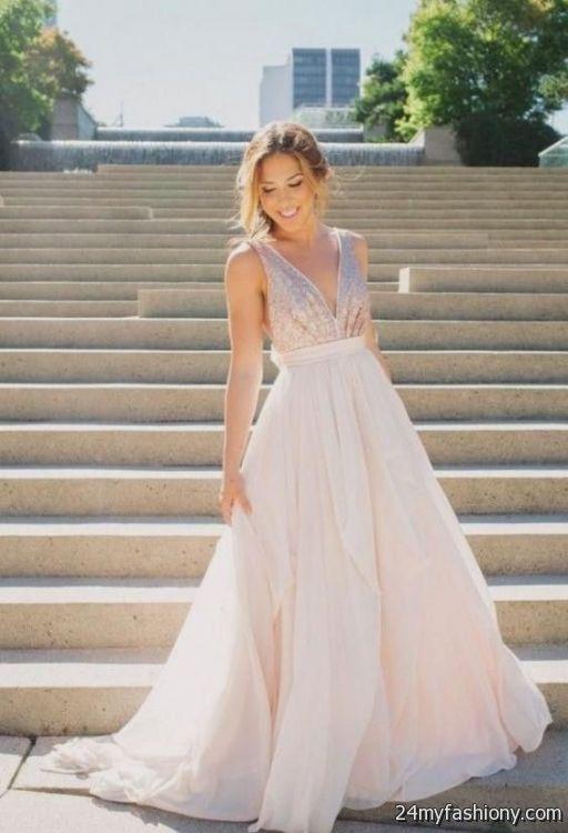 rose gold sequin wedding dress 2016-2017 » B2B Fashion