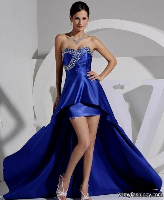 Royal Blue And Black Wedding Dresses 2016 2017 B2B Fashion