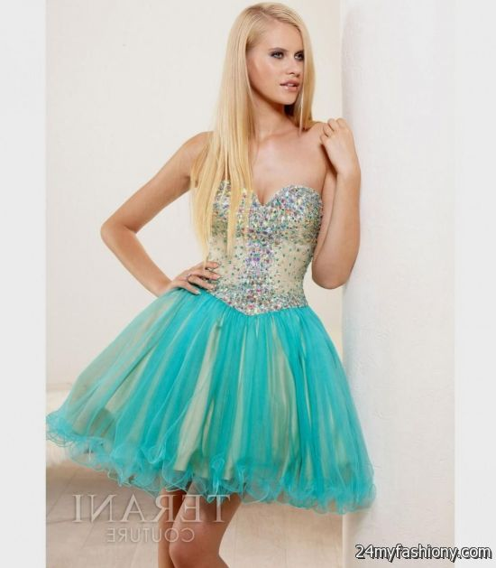 short teal prom dresses 20162017 b2b fashion