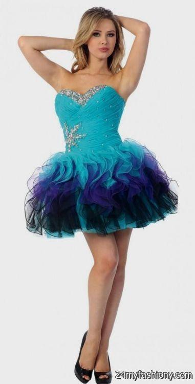 Purple Short Prom Dresses Under 100 ✓ Labzada Blouse
