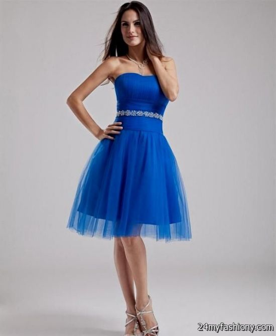 Silver And Royal Blue Bridesmaid Dresses Bb Fashion With Wedding