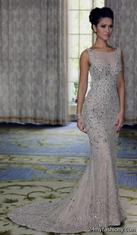 silver mermaid prom dresses 2016-2017 | B2B Fashion