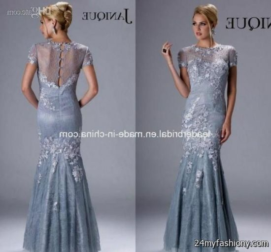 silver mother of the bride evening gowns 2016-2017 » B2B Fashion