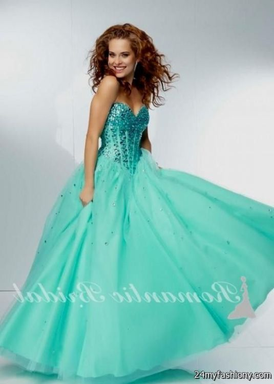 Sparkly Poofy Prom Dresses Looks B2b Fashion