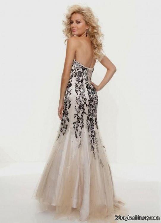 strapless champagne prom dress 20162017 b2b fashion