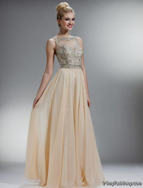 strapless champagne prom dress 20162017 b2b fashion
