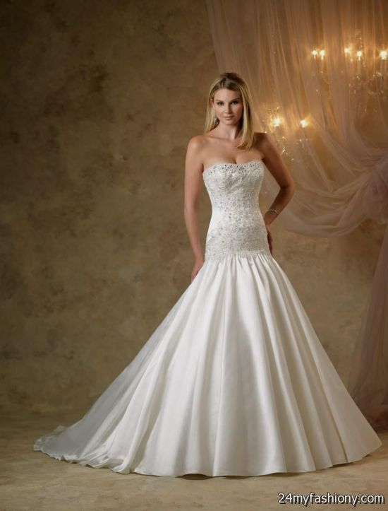 Satin mermaid wedding dress strapless dress fric ideas for Satin mermaid style wedding dresses