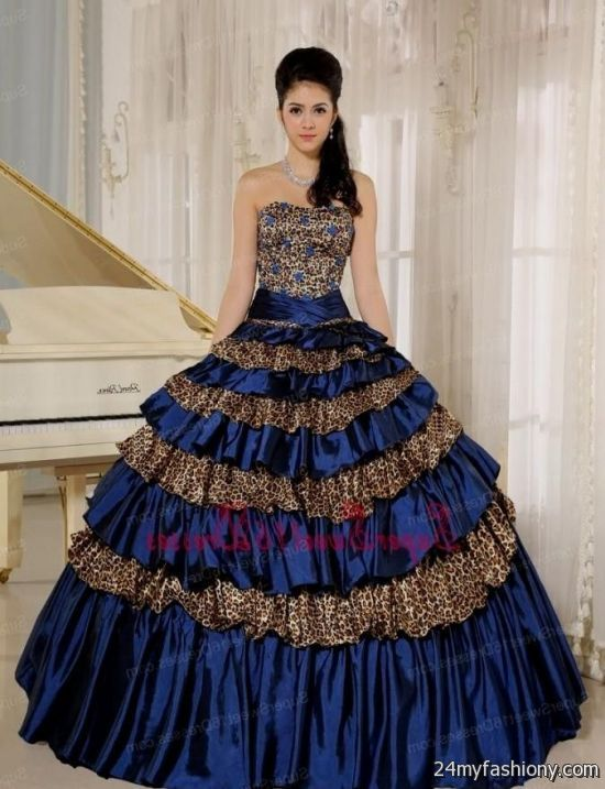 0724d1ec51a You can share these sweet 15 dresses blue and gold on Facebook
