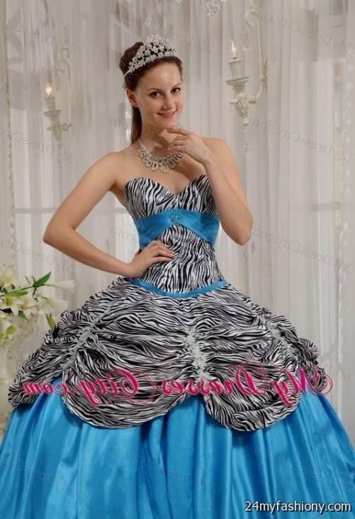 Zebra Prom Dresses 2017 13