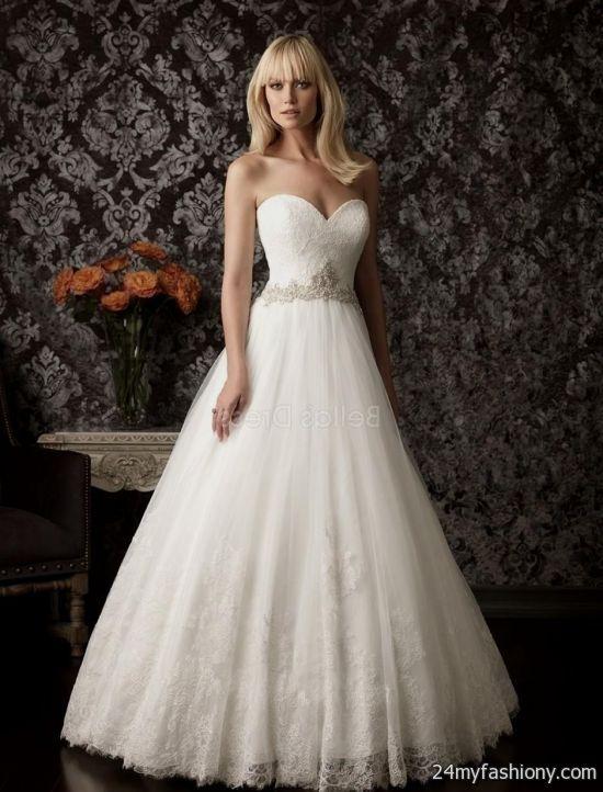 sweetheart neckline princess wedding dresses 2016-2017 | B2B Fashion