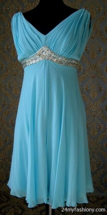 Tiffany Blue Plus Size Bridesmaid Dresses Looks B2b Fashion