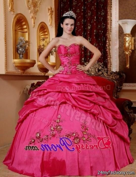 traditional pink quinceanera dresses looks b2b fashion