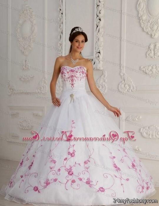 traditional white mexican quinceanera dresses 2016-2017 » B2B Fashion