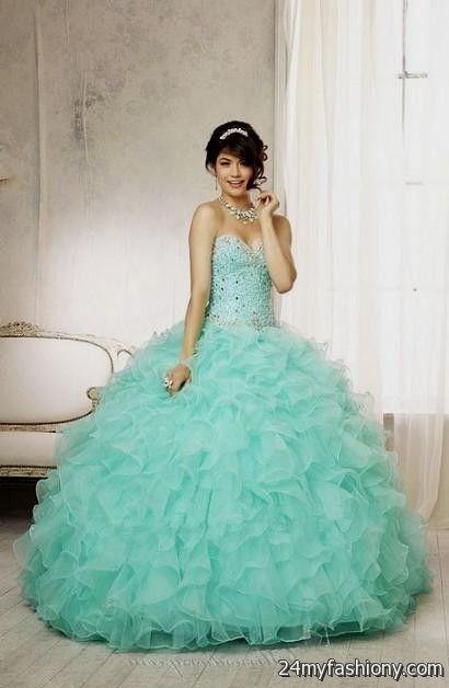 Turquoise Sweet 16 Dresses - Missy Dress