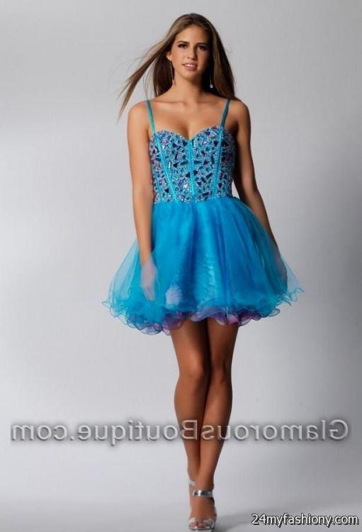 turquoise dresses for damas looks | B2B Fashion