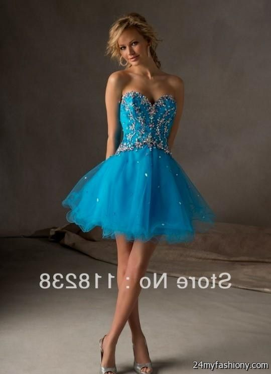 Turquoise Dresses For Damas - Missy Dress