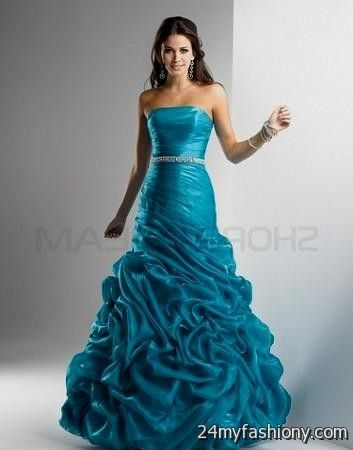 turquoise prom dresses long 2016-2017 » B2B Fashion