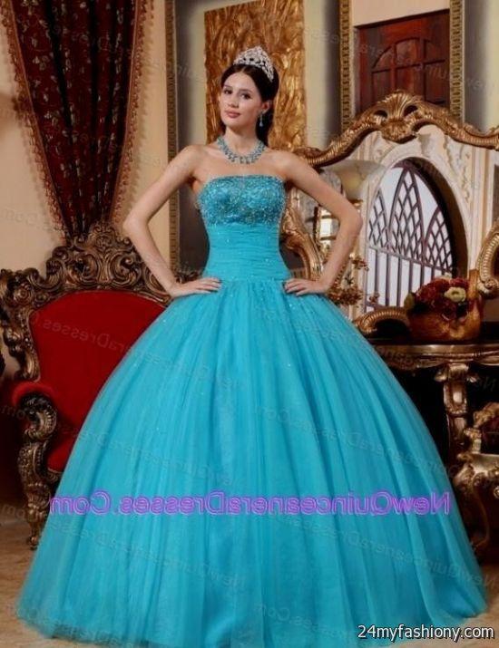 turquoise quinceanera dresses tumblr 2016-2017 | B2B Fashion